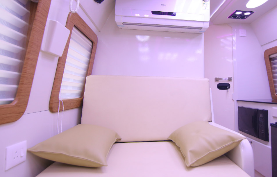 kalapuraparambil caravan luxurious interior
